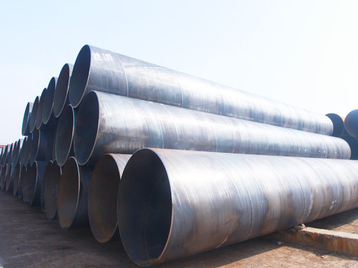 Annealing type of spiral steel pipe