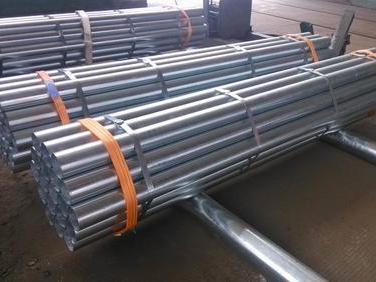Galvanized mild steel welded seam welding proces