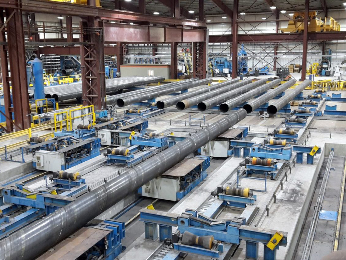 Chinese Pipeline for gas—Hunan great steel pipe