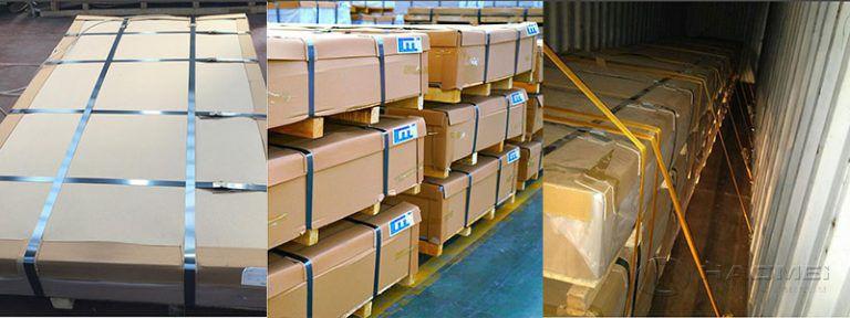 3003 Alminium plate packing1