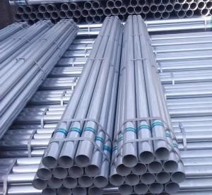 Galvanizado de tubos sin costura