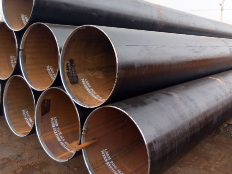 LSAW steel pipe and hot tension reducing pipe