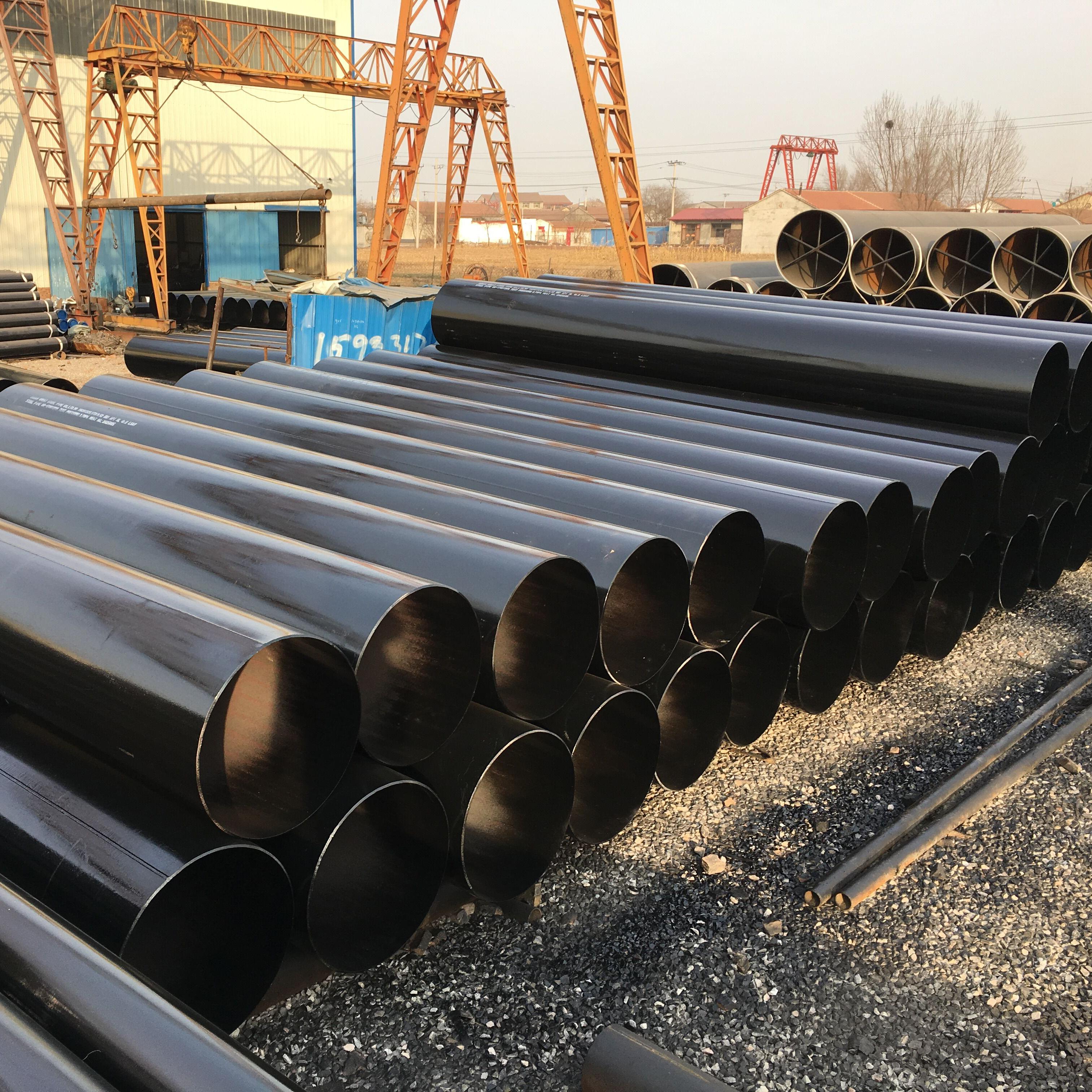LSAW Steel Pipe Featured Image