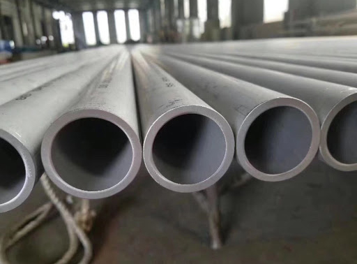 304 stainless steel pipe production method