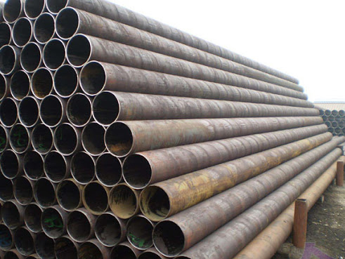 Temperature problems in the production of straight seam steel pipes