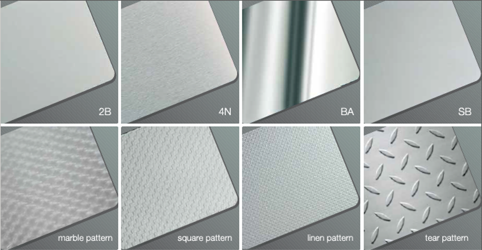 Surface Finish of stainless steel sheet