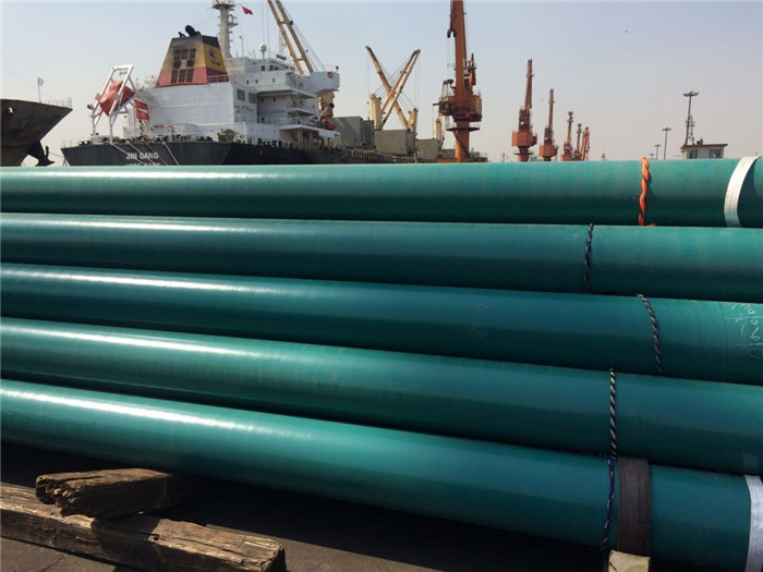 Coated pipe transportation