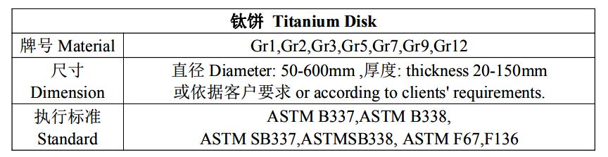Titanium Disc8