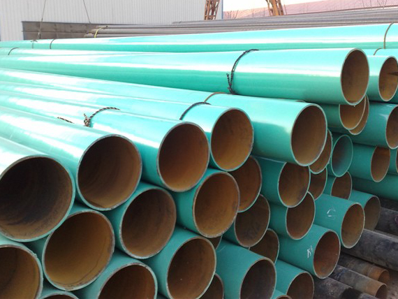 The 3PE anticorrosive steel pipe has these advantages