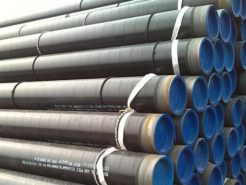 Preparation before installation of 3PE anti-corrosive steel pipe
