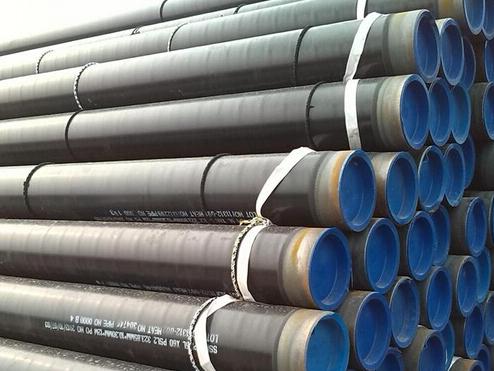 Preparation before installation of 3PE anti-corrosive steel pipe