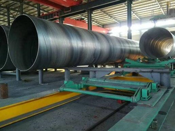 What should be done on the surface of high-frequency anti-corrosion spiral steel pipe?