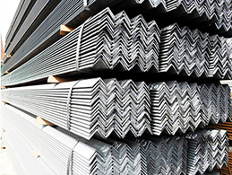 the packing of steel angle
